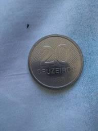 Moeda de 20 Cruzeiros de 1985