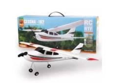 Avião De Controle Remoto Cessna 182 Aeromodelo