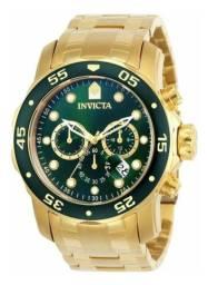 Título do anúncio: Relógio Invicta Pro Diver 0075 Ouro 18k
