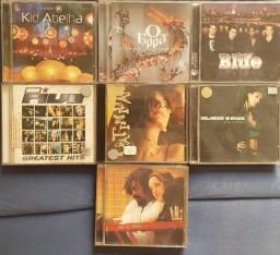 CDs originais vários títulos. CDs e encartes perfeitos