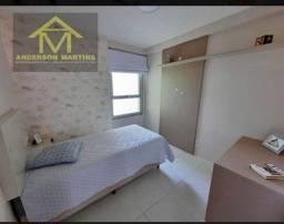 Apartamento com 2 quartos, sendo uma suíte, sala ampla para dois ambientes AMF16965