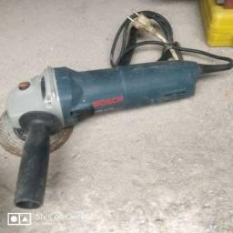 Esmerilhadeira angular Bosch Professional GWS 6-115 azul 127V