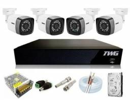 kit cameras de monitoramento full hd