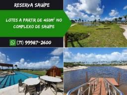 Reserva Sauípe, Lotes a partir de 450m² no Complexo de Sauípe - Oportunidade