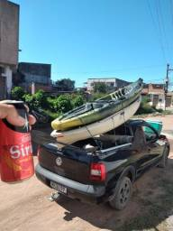 Caiaque Hunter fishing