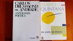 Livros: Antologia Poética e 80 Anos de Poesia