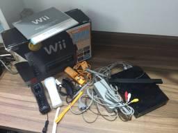 Vídeo game Nintendo Wii black core completo