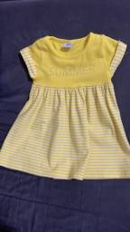Lote roupas de bebê menina
