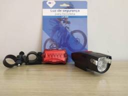 Kit Luz de Segurança Para Bicicleta