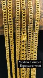 correntes e pulseiras