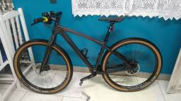 Bike carbono top aro 29 12 velocidades