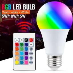 Lâmpada inteligente led RGB 10W
