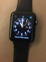 Apple watch 42 mm com Caixa e Nota