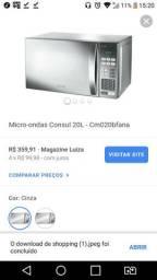 Vendo Micro-Ondas Consul 20 litros
