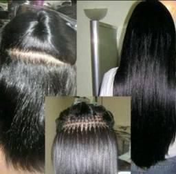 Mega hair a domicilio 120,00