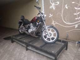 Elevador / plataforma lavagem de motos