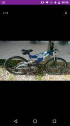 Vendo bike toda de alumínio macha Shimano pneus novos