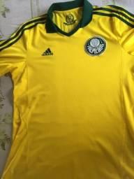 Camisa do Palmeiras Original Adidas Amarela