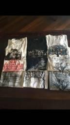 Torro lote de camisetas importadas - imperdível