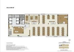 Andar Corporativo para grandes empresas - 600m² - BR 262