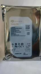 Hd 1 TB Sata 3 Seagate 3.5 Desktop ou DVR Lacrado