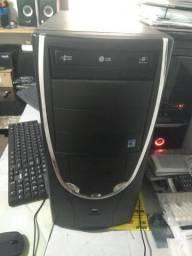 Computador e impressora hp