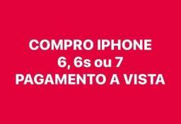 COMPRO IPHONE 6, 6s ou 7 UBERABA-MG