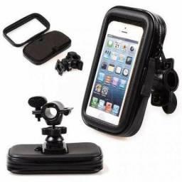 Suporte de Celular Para Fixar na Moto ou Bicicleta Exbom SP-C20S -novo