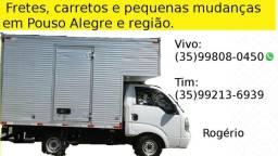 Faço fretes,mudanças pequenas e carretos em Pouso Alegre e região 99808-0450