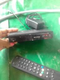 Conversor e antena 80 reais
