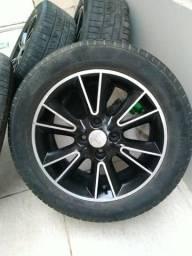 Rodas com pneus aro 15 4/?