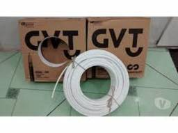 Cabo coxial RG6 cx 100m 60 reais