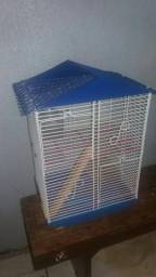 Gaiola 3 andares pequena para Hamster/Esquilo Gerbil
