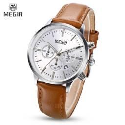 Relógio Original MEGIR ML2011 Feminino Branco
