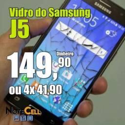 Vidro do Samsung J5 J500 Instalado!
