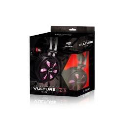 Fone Com Microfone C3 Tech Ph-g710bk Gamer Usb 7.1 Vulture