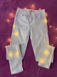 Calça skinny branca 36
