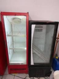 Freezers expositor verticais