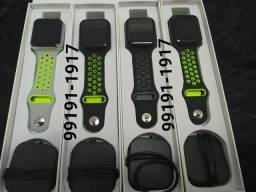Relógio Smartwatch F8 Touch Screen Aprova D'água Ip67 Multifunções Android E Ios Preto