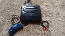 Console Sega Mega Drive 3 (Estudo Troca)