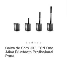 Caixa de som profissional JBL EON ONE <br><br>