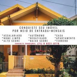 M.T saia do aluguel- casas 2/4 a 4/4-Iapi- Lauro de freitas+de300imoveis