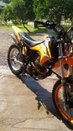 Moto Trilha troco por moto de rua