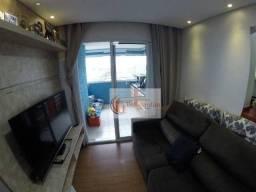 Apartamento com 2 dormitórios, sendo 1 suíte, à venda, 60 m² por R$ 398.000 - Vila Valpara