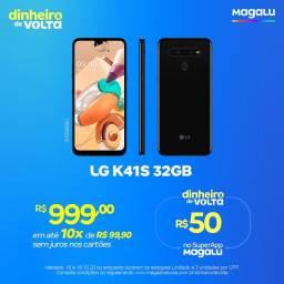 LG K41S Novo a Pronta Entrega no Magalu Copacabana Loja