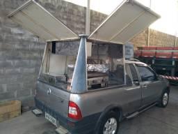 Strada cabine ES equipamento sanduíche