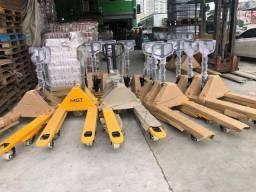 Paleteiras Meneghotti 3 ton rodados duplos