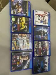 Vendo 8 jogos PS4
