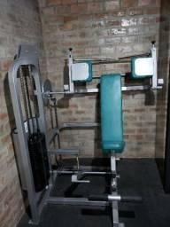 Máquina de Pullover, academia, musculação, treino, aparelho, máquina