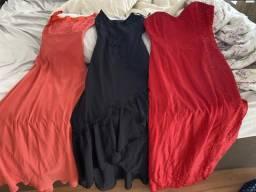 Três Vestido festa